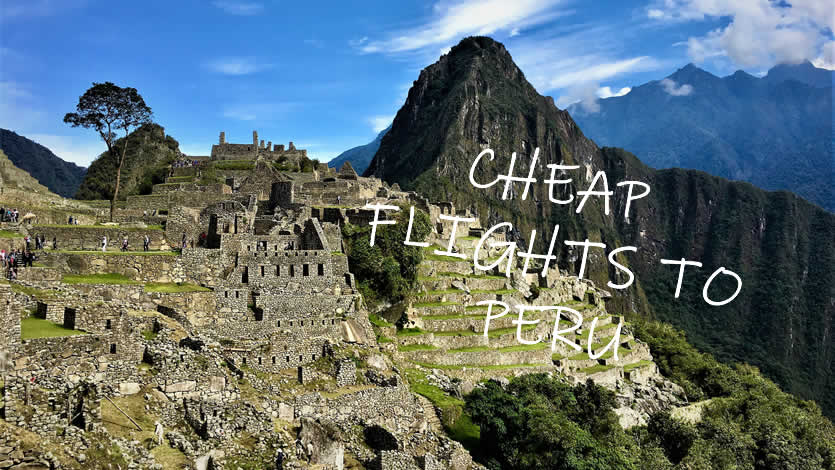 How to find cheap flights to Peru