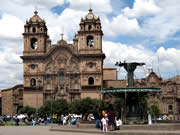 Colonial Cathedral in Cusco