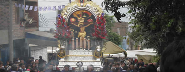 Se�or de los Milagros in Peru
