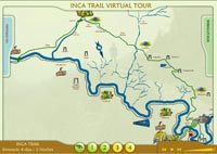 Interactive Map of The Inca Trail