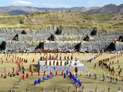 Inti Raymi, presentation of worship of the sun