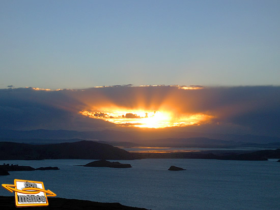 Titicaca sunrise