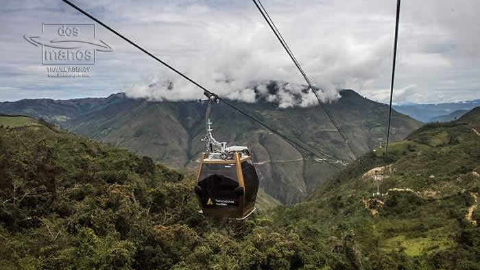 Chachapoyas the cable car