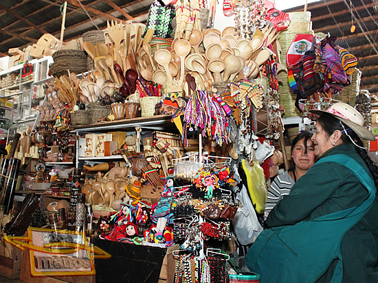 Shopping in Cusco