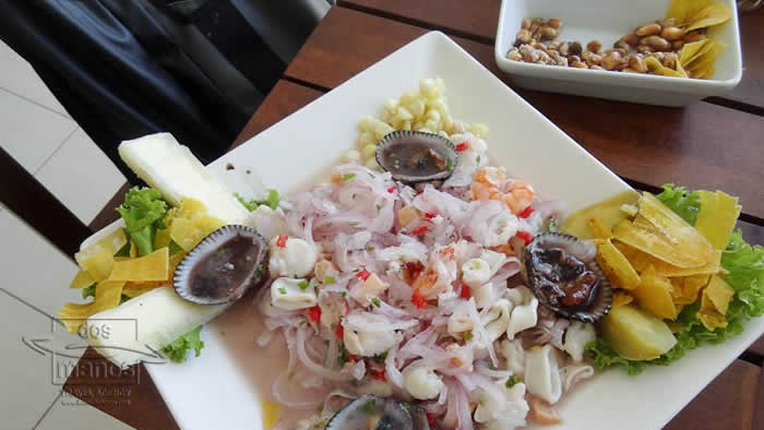 Ceviche seafood
