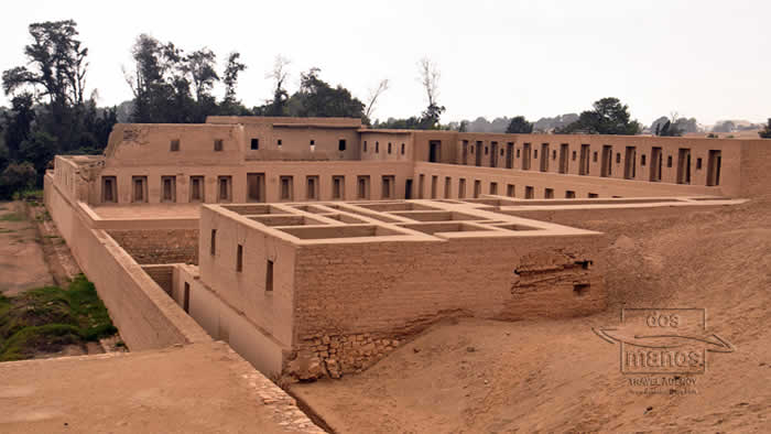The Pachacamac temple