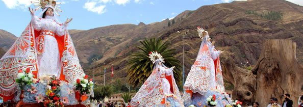 Virgen Asunta Festivals Peru Sacred Valley