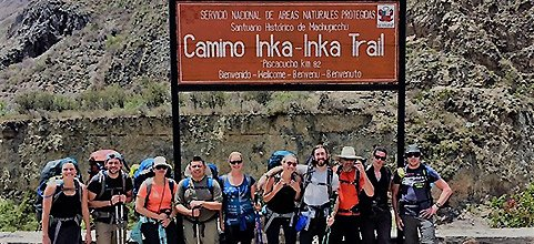 Inca Trail 4 day Trek to Machu Picchu
