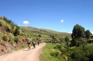 Mountain Biking at Maras and Moray