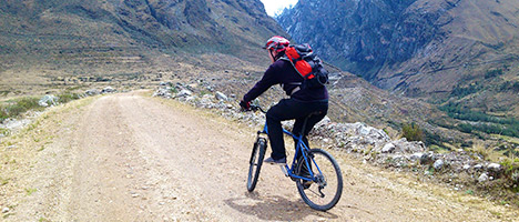 Mountainbiken Huaraz (halve dag tour)