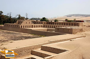The sacred city of Pachacamac