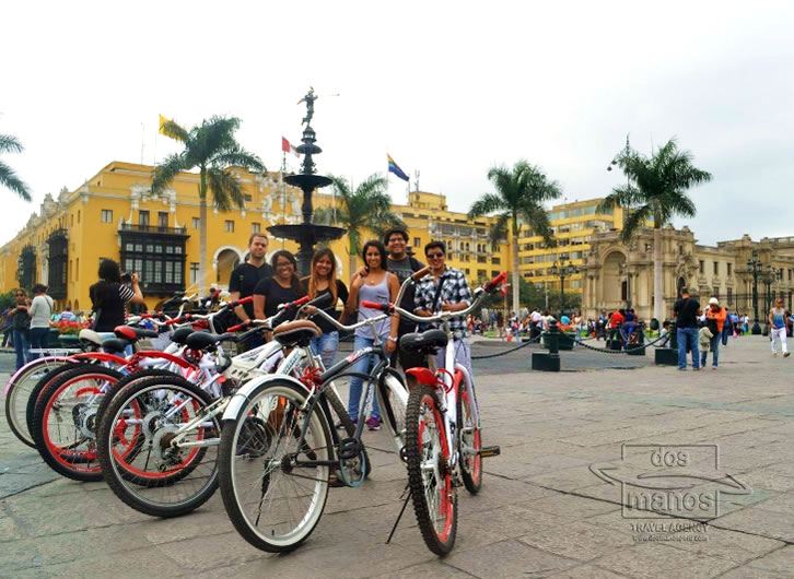 Bicycle Tours of Fietsen in Lima