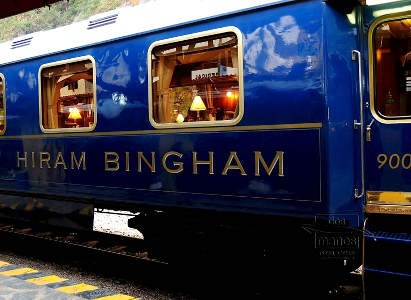 Machu Picchu by Hiram Bingham Train