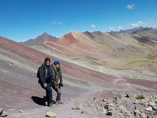 Rainbow Mountain of  Vinicunca (1 dag) Cusco, Peru