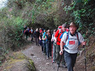 Experiences from the Inca Trail