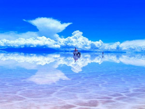 Destinations in Bolivia: Uyuni