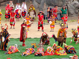 Cusco celebrating: the Festival Months May and June