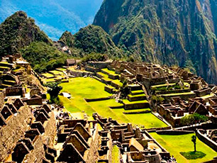 Machu Picchu rated Landmark