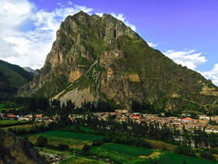 Ollantaytambo off the beaten Track