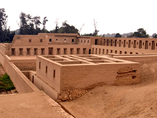 Sights in Lima: Pachacamac