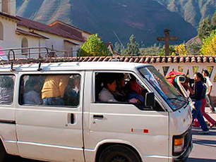 How to use public transport right in Peru