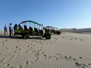 Sandboarding in the Desert of Huacachina