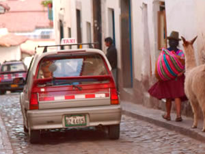 Travel Tips: Taxis in Peru
