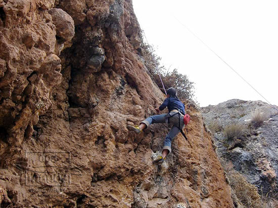 Rockclimbing in the Sacred Valley