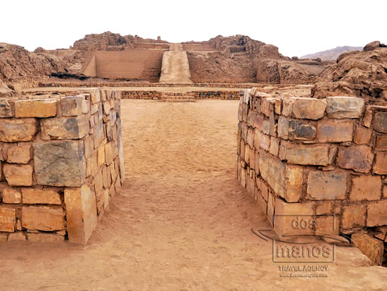 The Sacred Citadel of Pachacamac