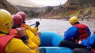 Sinta a adrenalina do rafting nos rios de Cusco