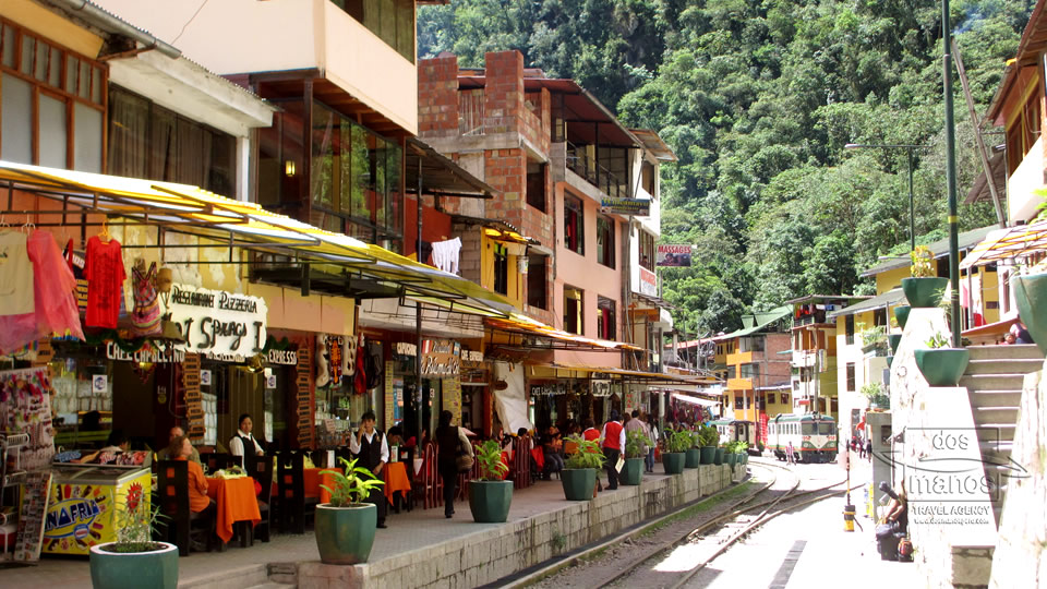 Aguas Calientes, of te wel