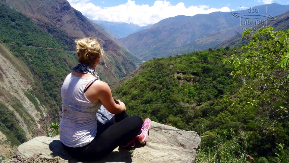 Amazing Views of the Valley on the Inca Trail