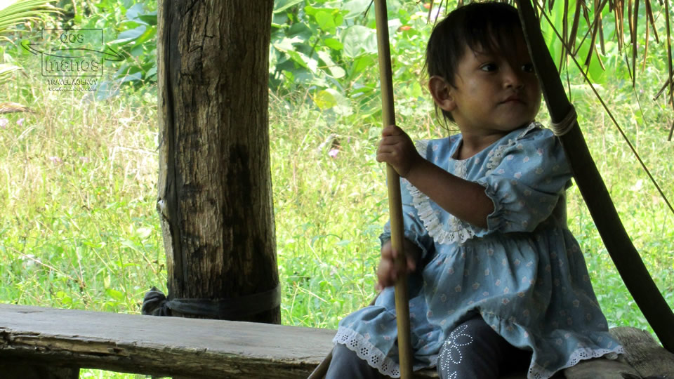 Peruvian Child in the Amazon