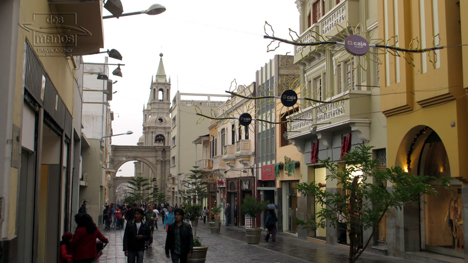 Streets of Arequipa, Peru