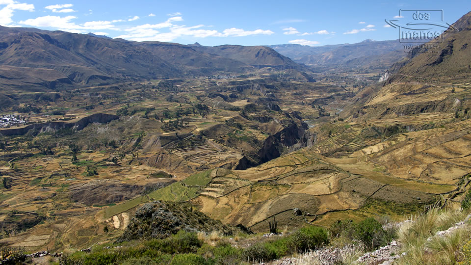 View of the Colca Canyon, Arequipa