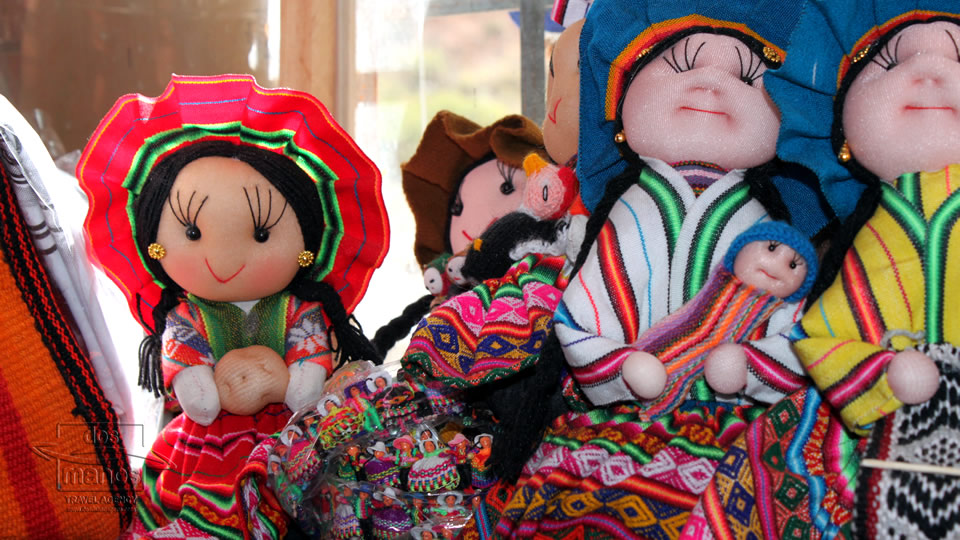 Traditional souvenirs in Yanahuara