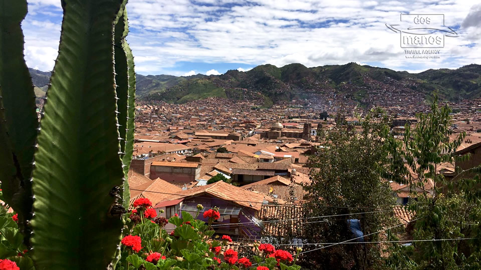 Beautiful View over Cusco