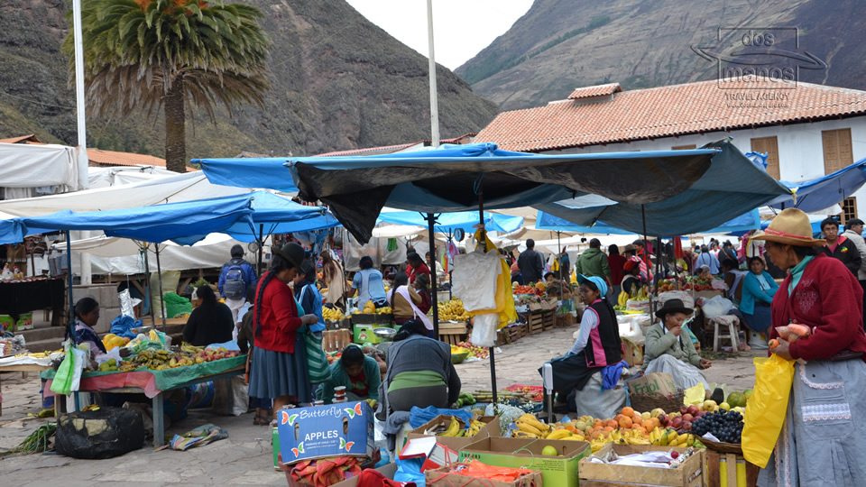 Fruits and Veggies at the market of Pisac