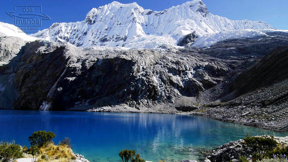 Scenery close to Huaraz