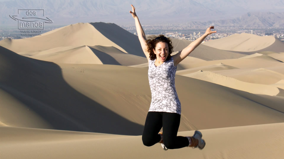 Fun tour in the sand dunes in Ica