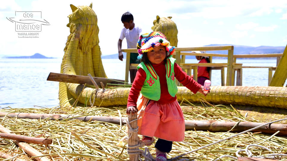 Little Girl at Lake Titicaca