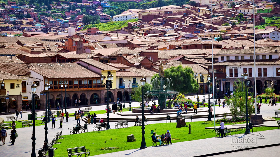 Hauptplatz in Cusco