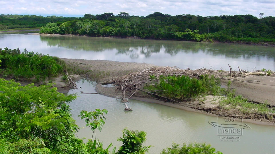 River in the Madre de Dios department, Peru