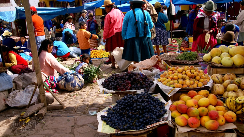 Daily Market in Cusco, Peru