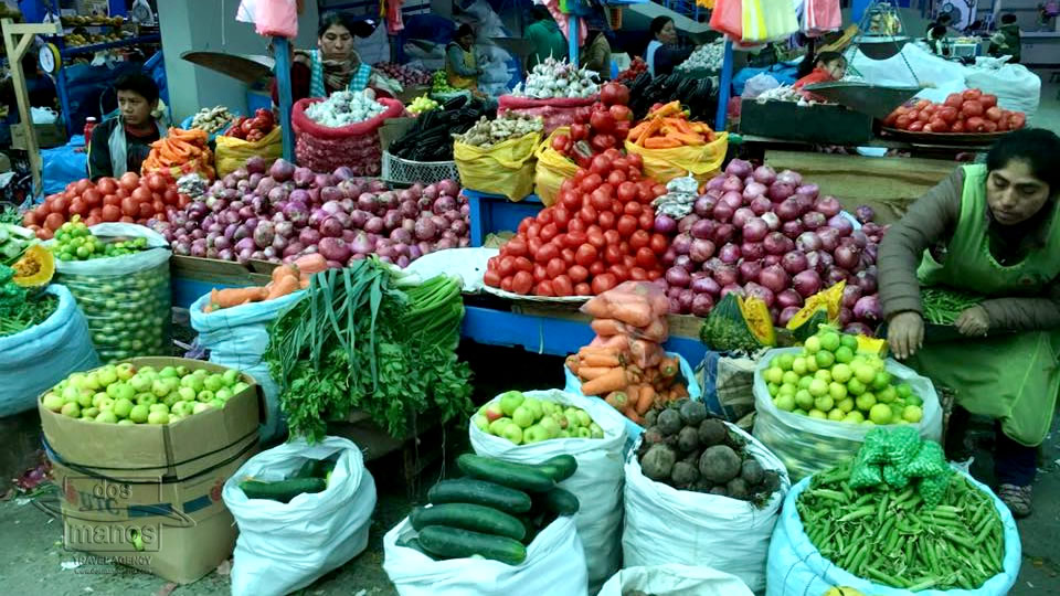 Fruit and Vegetable on the Markets in Cusco