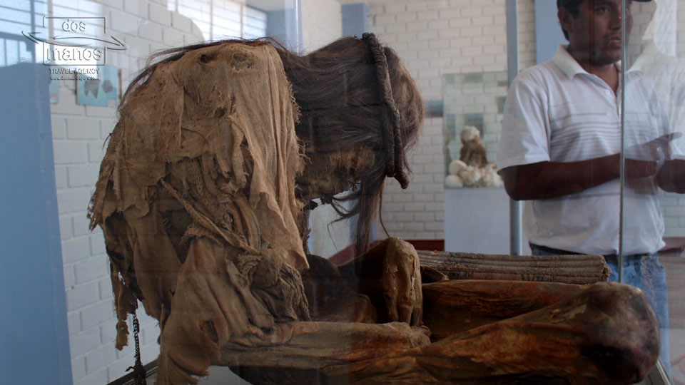 Mummies in Peru Nazca