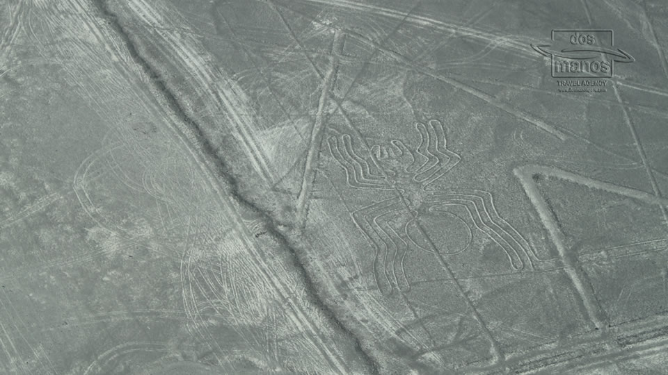 Mysterious Nasca lines in Peru