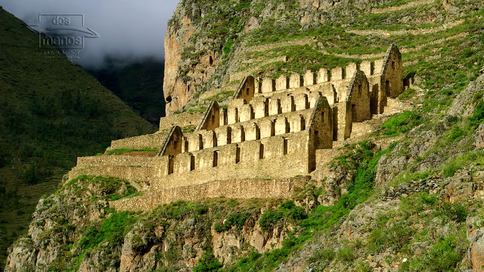 Ollantaytambo in the Sacred Valley of the Incas