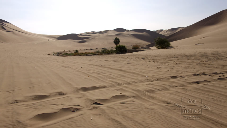 Sand dunes on the Peruvian Coast