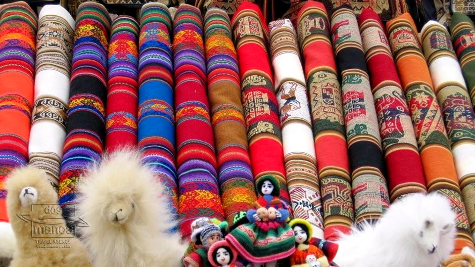 Traditional textiles in Peru